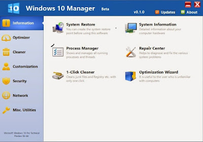 Yamicsoft Windows 7 Manager Serial