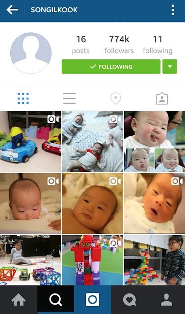 instagram song il kook, triplets daehan minguk manse