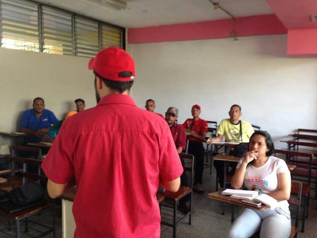 Continúan los talleres obrero sindicales impulsados por la CSML en Aragua