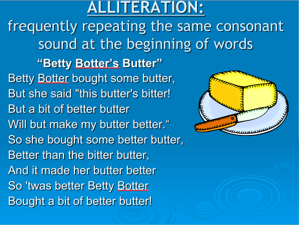 Alliteration Definition And Examples For Kids Image Collections