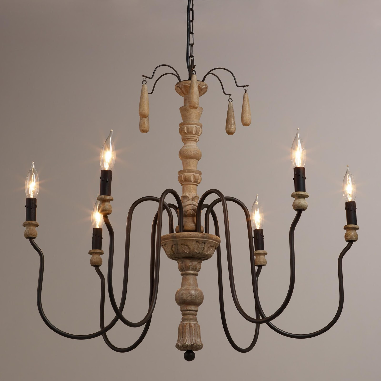 Easy DIY Joanna Gaines & Fixer Upper Chandelier