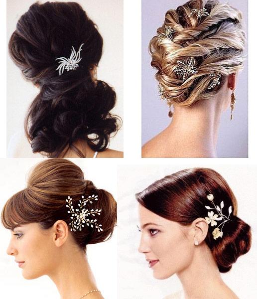 Trendee Flowers Designs: Bridal Hair Accessories