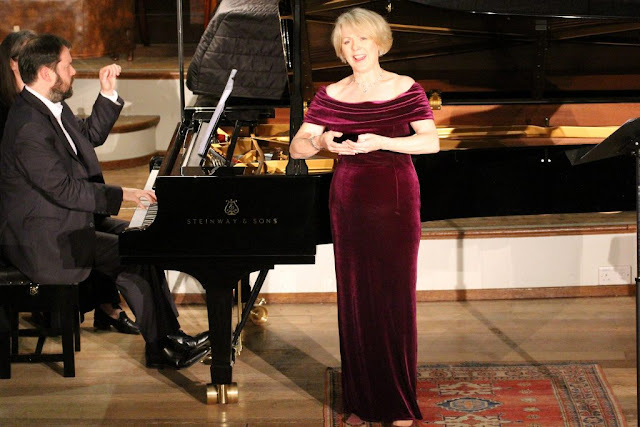 Sholto Kynoch and Joan Rodgers at the Oxford Lieder Festival 2015 - photo Robert Piwko