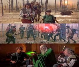 Jelenetek a Támadás a Krull bolygó ellen c. filmből, 1983