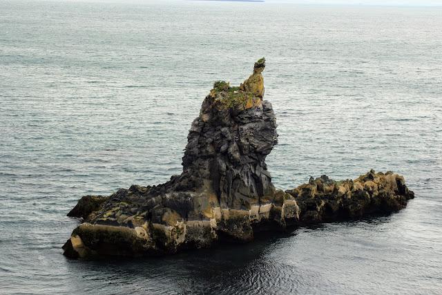 סלע בצורת צוללת