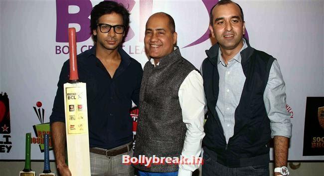 Karan Mehta, Tv Actresses Launch Golden Bat of Box Cricket League