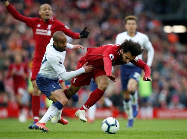 Hasil Liga Inggris: Liverpool Taklukkan Tottenham 2-1