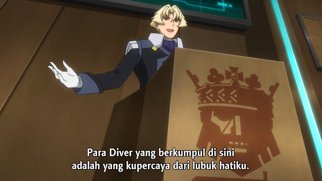 Gundam Build Divers Episode 10 Subtitle Indonesia