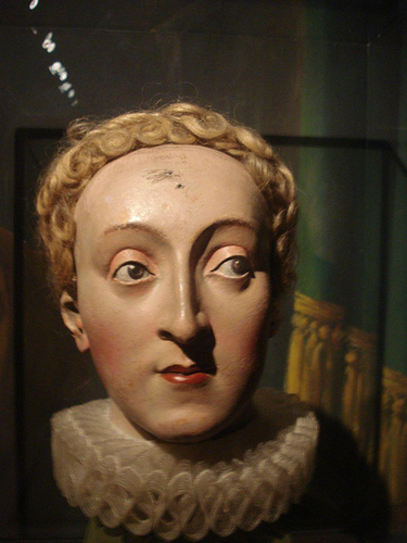 Mary Queen Of Scots Death Mask Being Bess: On This Da...