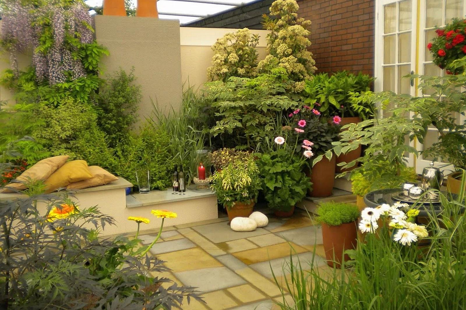 Minimalist Front Garden Design Ideas | Halamanku Halamanmu on Minimalist Backyard Design id=95592