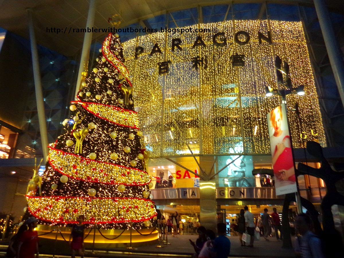 Christmas display, Paragon, Orchard Road, Singapore