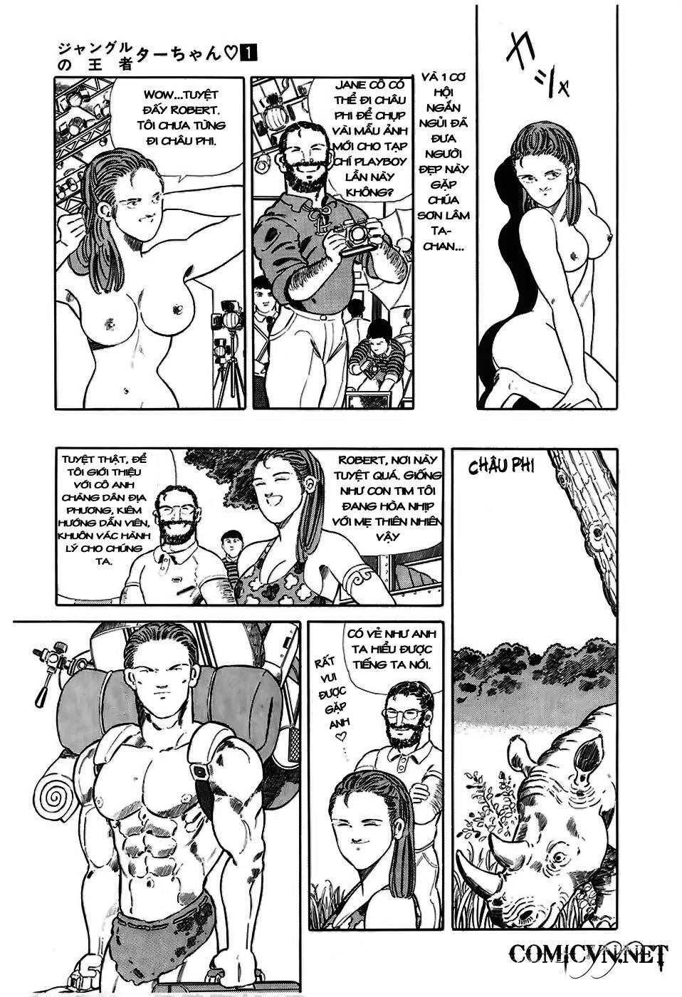 Chúa rừng Ta-chan chapter 3 trang 4