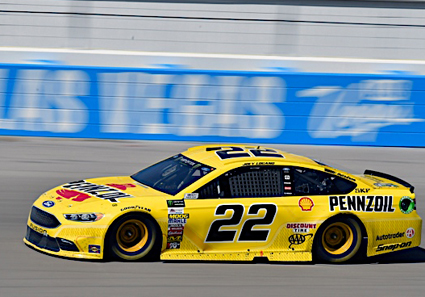 Logano would bring the No. 22 home in the fourth position, which marked a sixteen-position gain over his lowest running position of the afternoon.