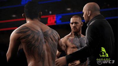 تحميل لعبة المصارعة EA SPORT UFC مجانا للاندرويد والايفون والكمبيوتر مجانا
