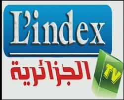 تردد قناة L index القناة الجزائرية الجديدة على النايل سات 2013 L'index algeria frequency Channel