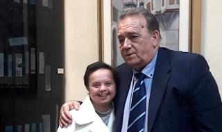 Υποτροφία πήρε η φοιτήτρια Μαρία Νίτσα με σύνδρομο down
