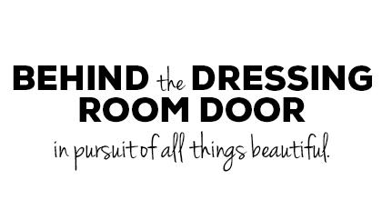 Behind The Dressing Room Door a119861ad