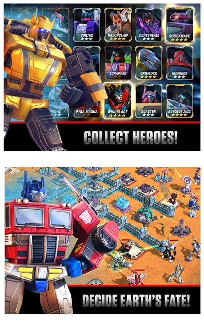 Transformers Earth Wars v1.61.0.20893 Mod (Unlimited Energy)