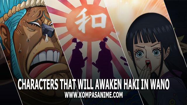 10 Karakter yang akan Membangkitkan Kekuatan Haki di Wano dalam One Piece