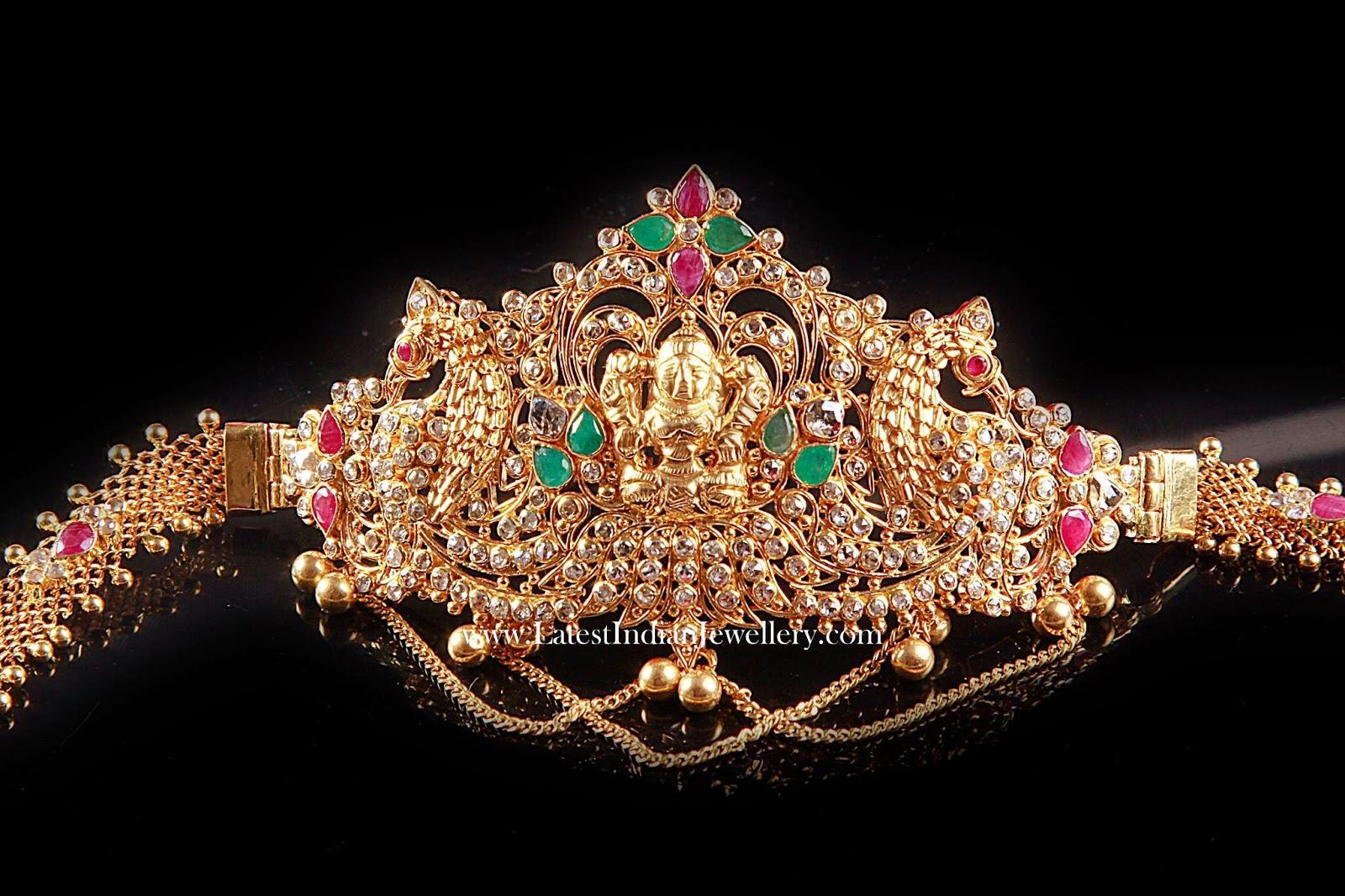 Uncut Diamond Baju Bandh Latest Indian Jewellery Designs