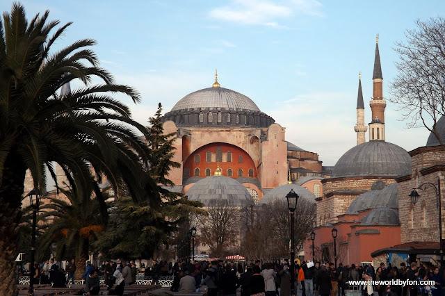 Santa Sofia, Istambul, Turquia.