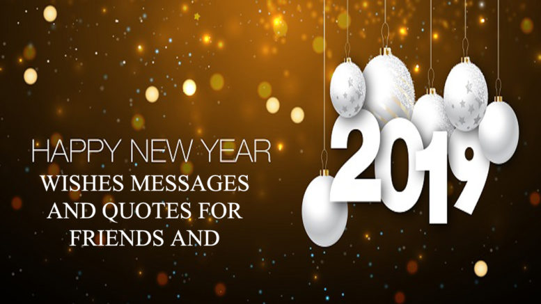 unlimited latest 2019 happy new year wishes for friends