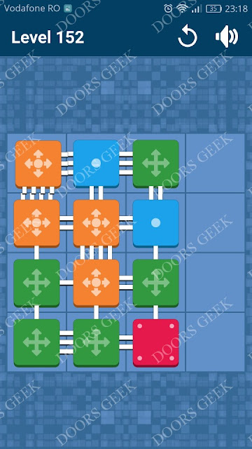 Connect Me - Logic Puzzle Level 152 Solution, Cheats, Walkthrough for android, iphone, ipad and ipod
