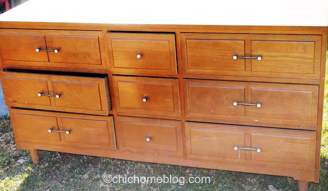 mid-century modern dresser circa 1958
