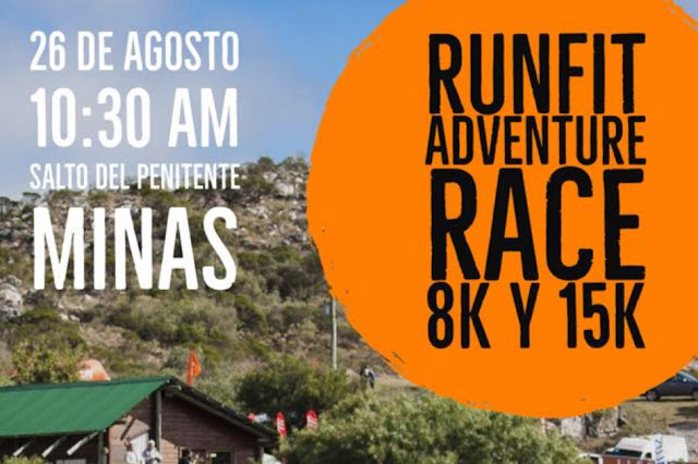 15k y 8k Runfit Adventure Race Salto del Penitente (Lavalleja, 26/ago/2018)