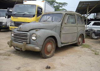 Dijual Bahan Mobil TUA Fiat 500 Harga Disambi NGOPI