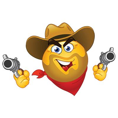 Wild west emoji