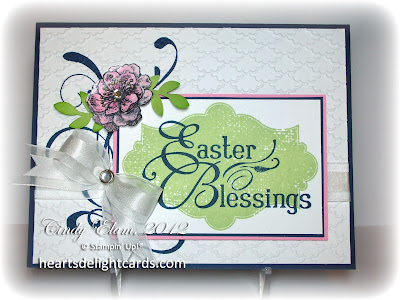 Easter card, Stampin' Up, card making, paper crafting