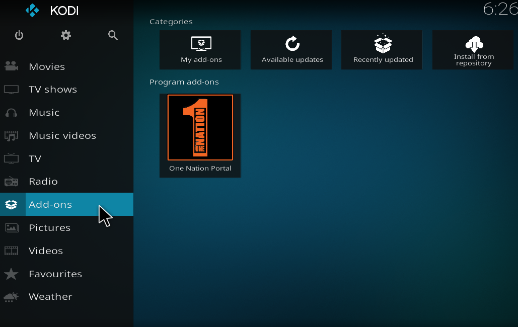 How To Install One Nation Kodi Builds - KodiBoss › Review, Guides