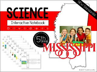 https://www.teacherspayteachers.com/Product/Mississippi-Science-5th-Grade-Interactive-Notebook-Dividers-New-Standards-3343792