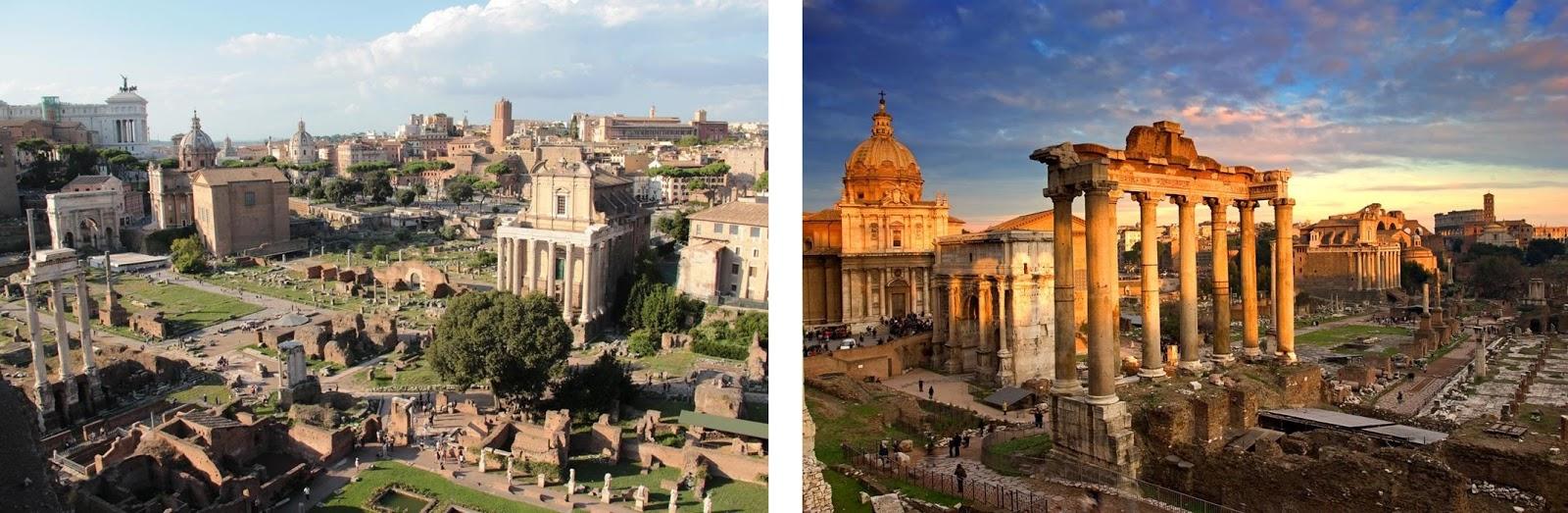 The Roman Forum (Roma, Italy)