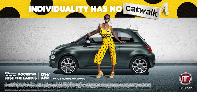 Fiat 500 Celebrates Individuality In 'Lose The Labels' Outdoor Campaign By Krow