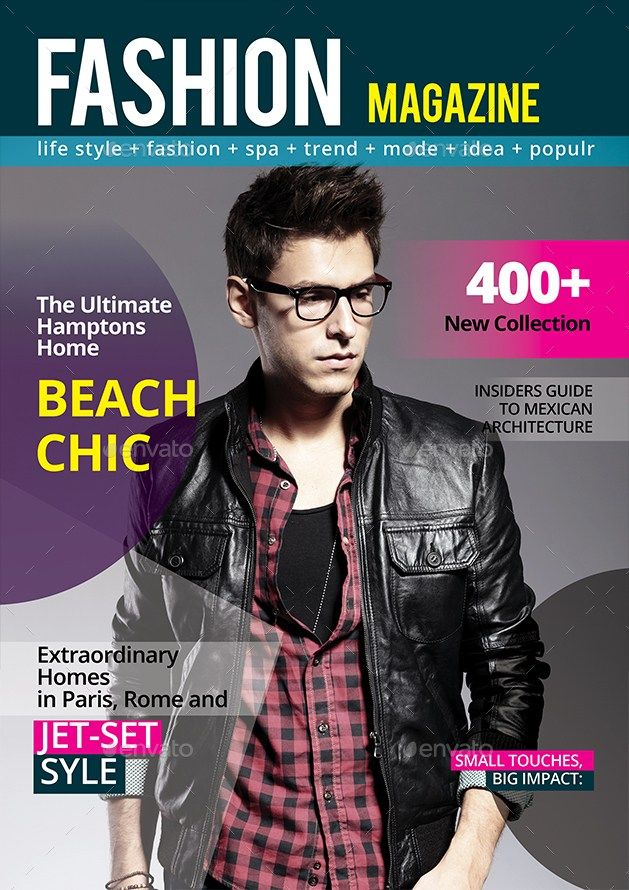 28 Print Magazine Templates & Covers - Photoshop PSD InDesign ...