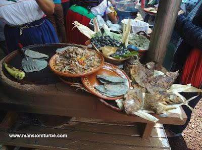 Traditional Cuisine at Patzcuaro Lake Area
