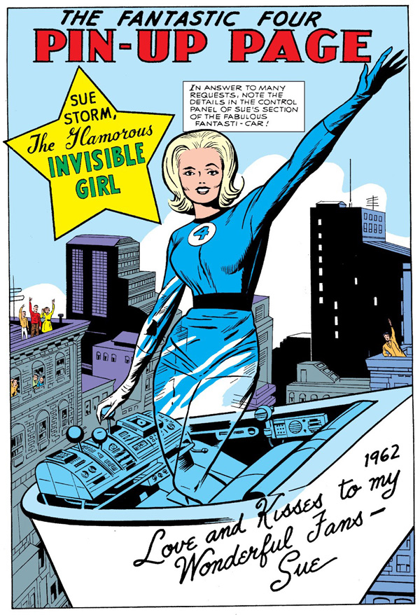 Marvel in the Silver Age: Women of Marvel: Sue Storm Part 1 - Fade Out
