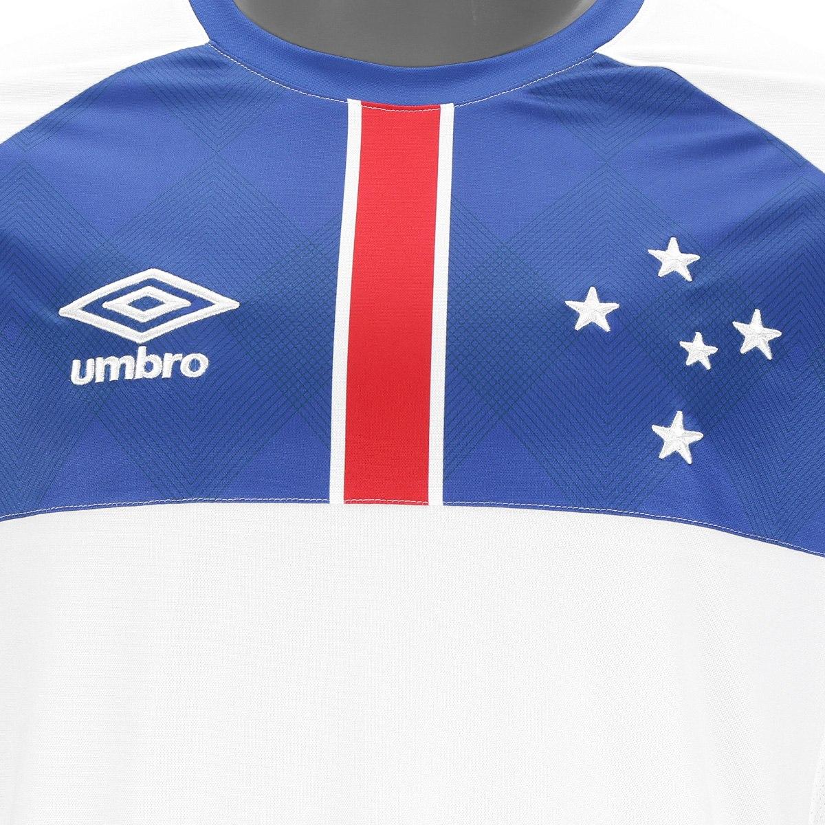 Umbro lança a nova camisa reserva do Cruzeiro - Show de Camisas 6735c269d8c59