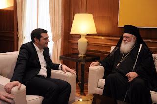 Ο κ. Τσίπρας ενημερώνει τον Ιερώνυμο και αγνοεί τα κόμματα