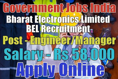 Bharat Electronics Limited BEL Recruitment 2017