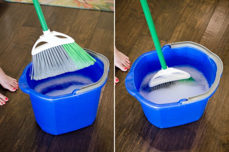 10 Genius Tips To Deep Clean Your House - Brooms