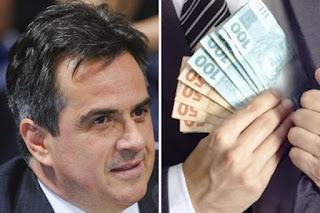 Resultado de imagem para Polícia Federal encontra dinheiro no quarto do senador ciro