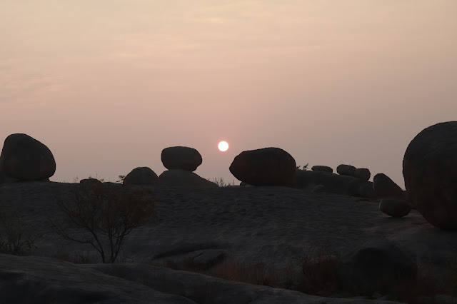 sunrise at khajaguda hills hyderabad