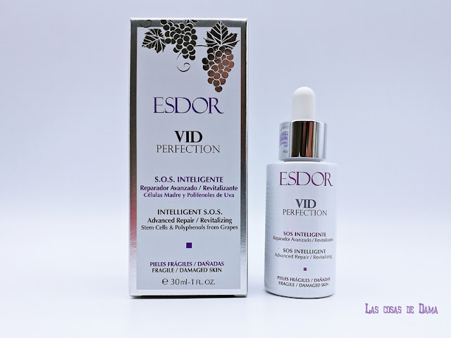 S.O.S. Inteligente Esdor Vid Perfection serum Esdor polifenoles  beauty belleza cuidado facial skincare
