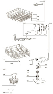 Schematic Diagrams: WHIRLPOOL DISH-WASHER ADG352WH
