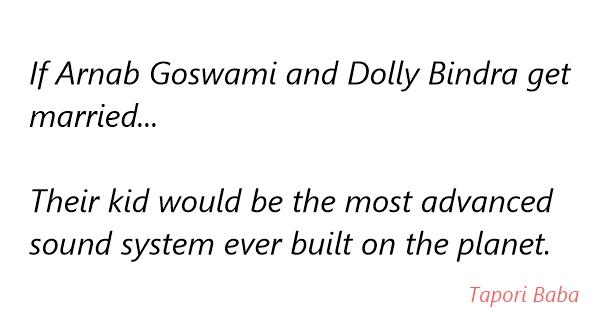 arnab goswami funny phrases