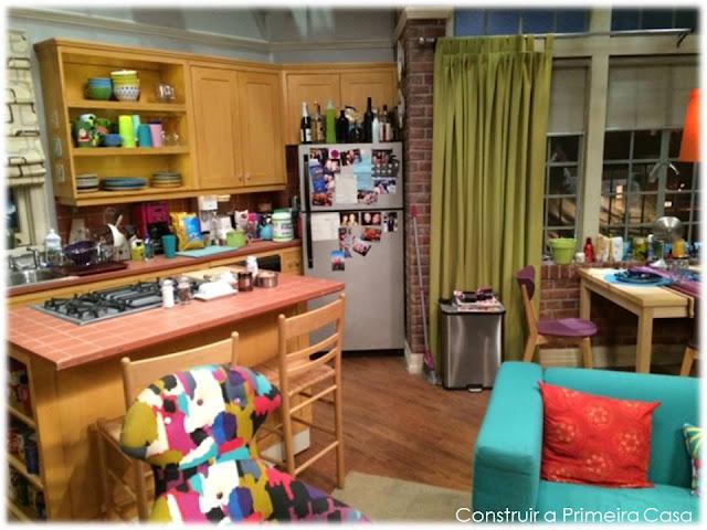 Vista da cozinha da Penny