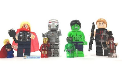"Avengers Toys - ""The Bigfigures"""